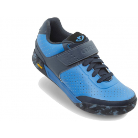 GIRO CHAMBER II MTB SHOES 2019: BLUE JEWEL / MIDNIGHT 42