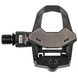 LOOK KEO 2 MAX CARBON PEDALS WITH KEO GRIP CLEAT: