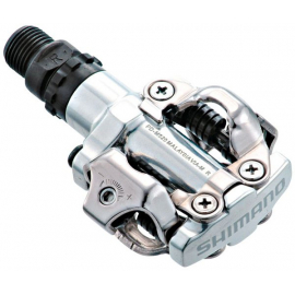 PD-M520 MTB SPD pedals - two sided mechanism  silver