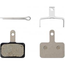 B01S disc brake pads and spring  steel backed  resin