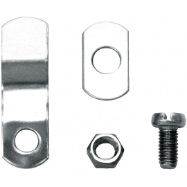 SKS BOTTOM BRACKET CLAMPING KIT - CHROMO/BLUEMELS: