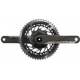 CRANKSET RED D1 DUB (BB NOT INCLUDED):